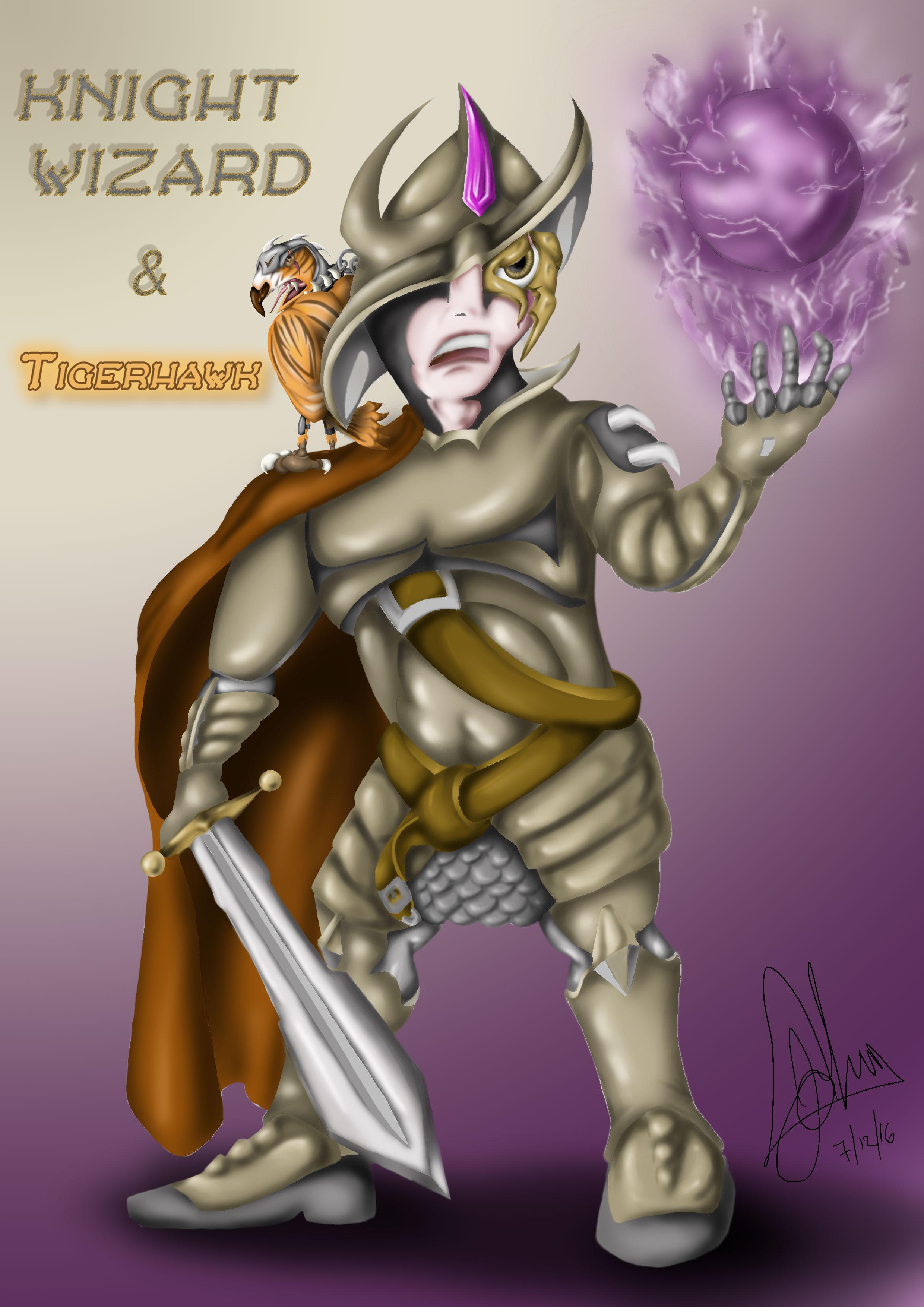 Knight Wizard & The Tigerhawk