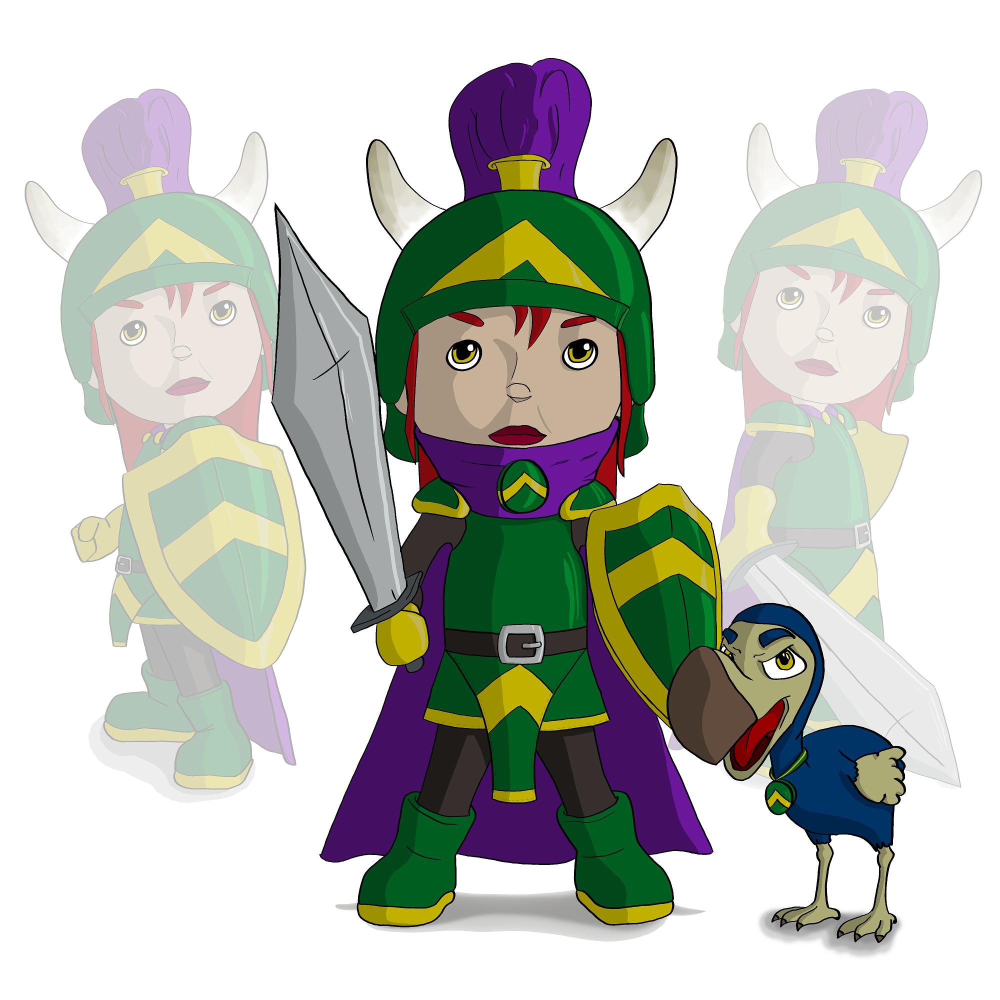 Knight and Dodo