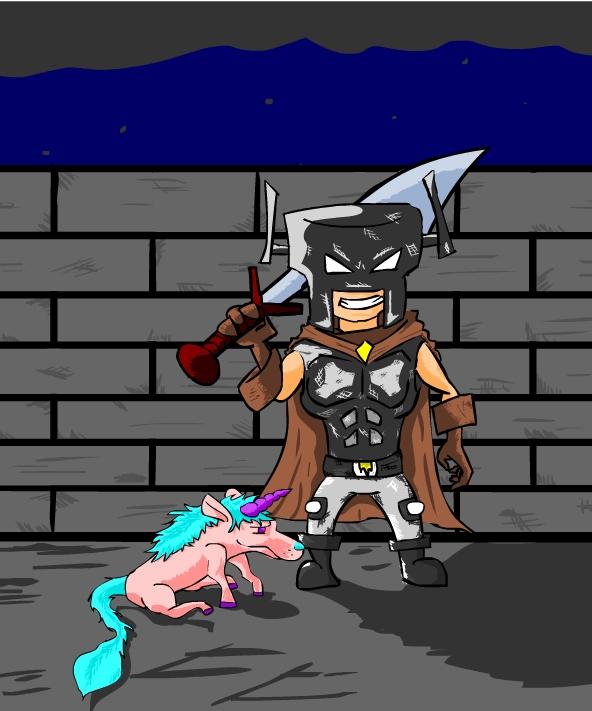 Knight with Unicorn