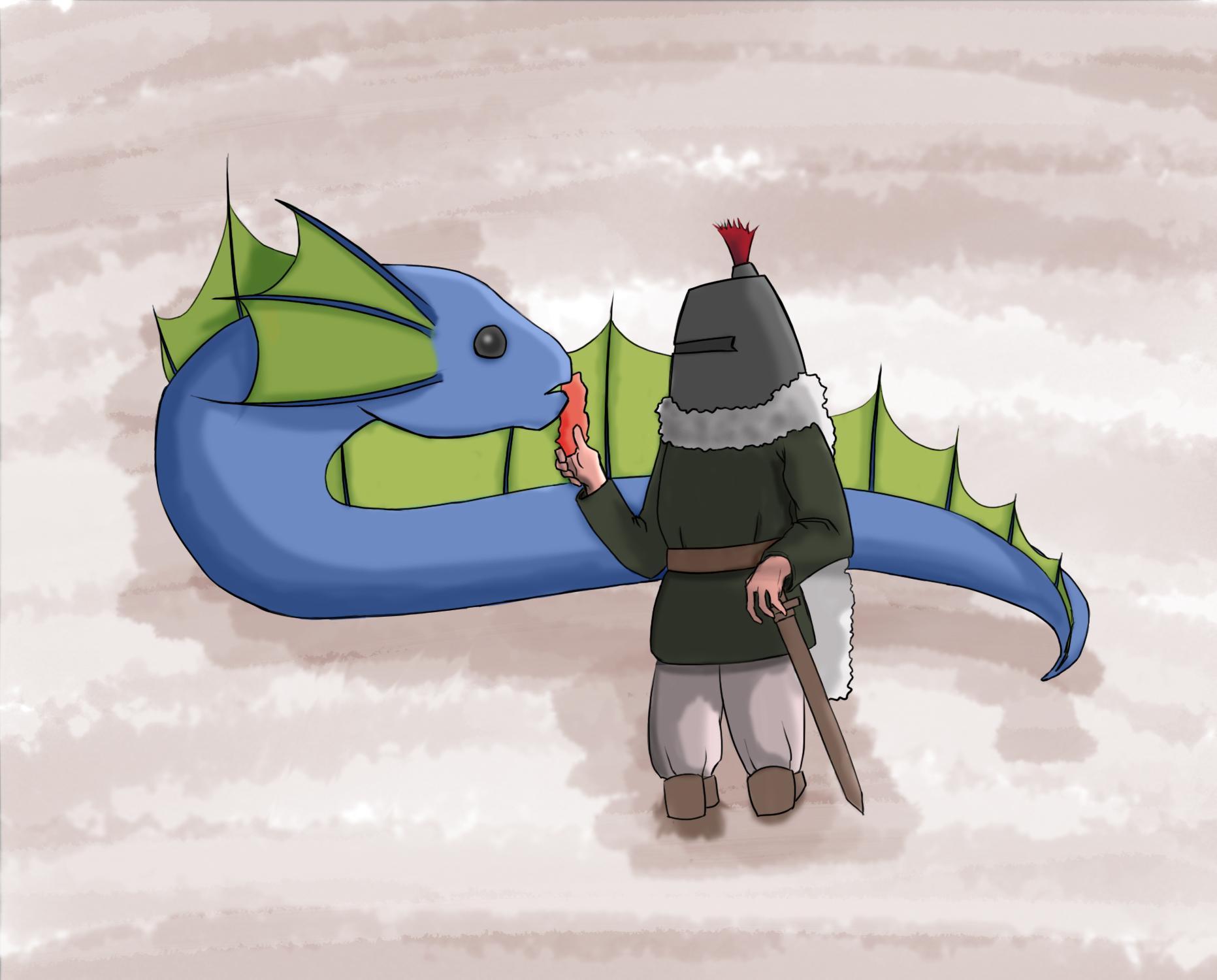 Nonstop knight concept
