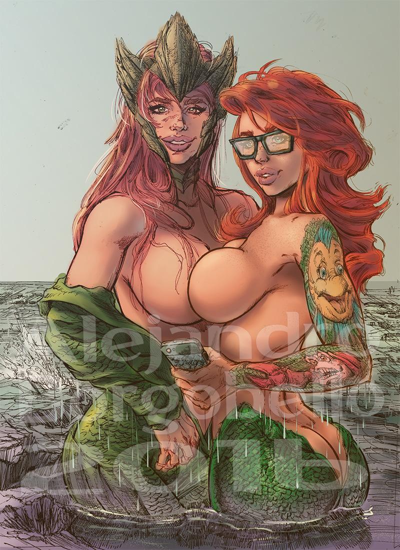 Ariel & Mera - COMMISSION