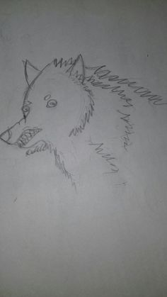 Day 2: Felix the Disgusted Wolf