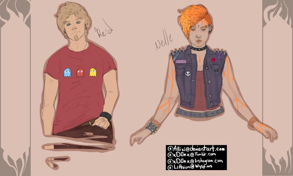 Reid and Belle Concept Reff
