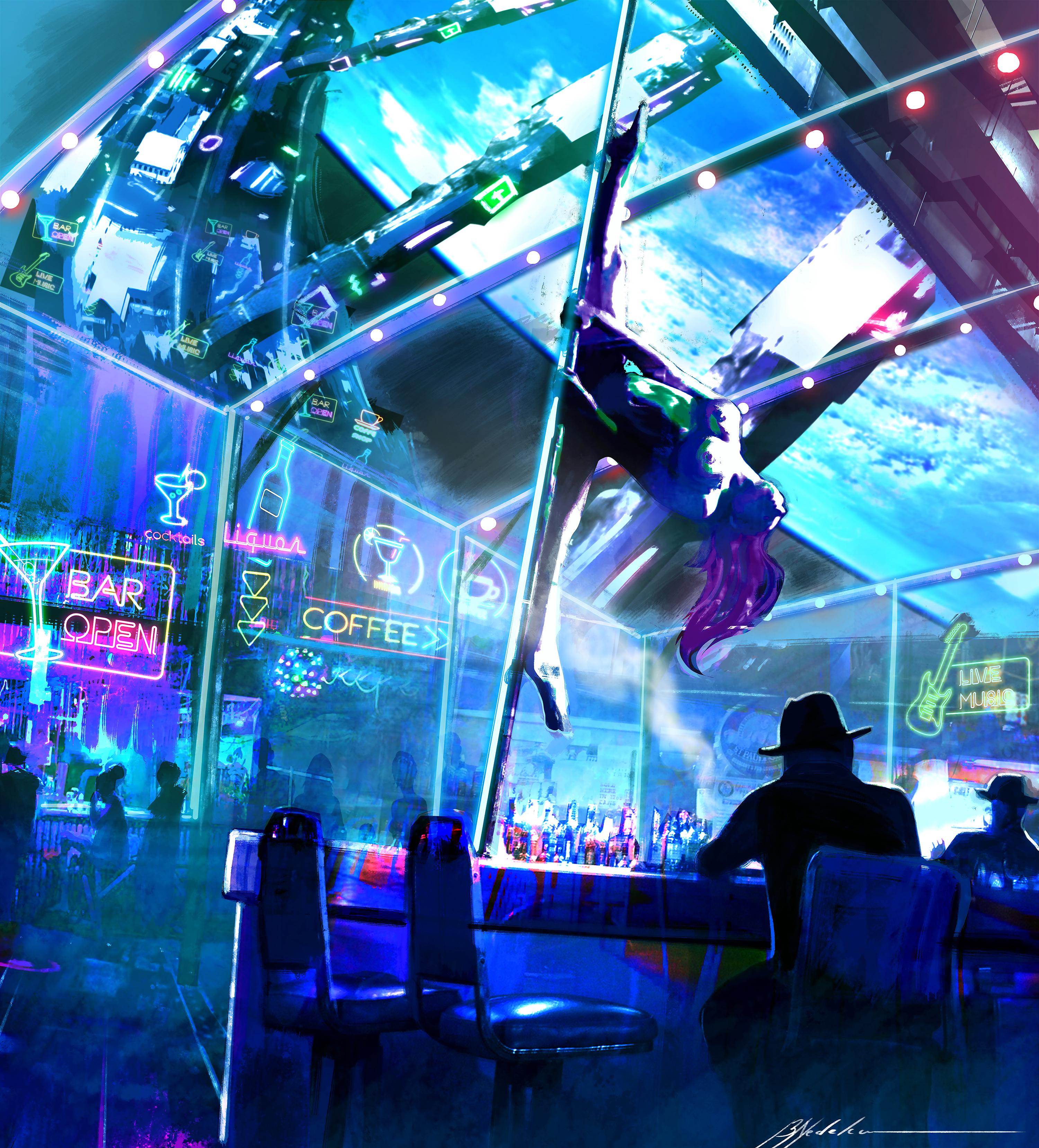 Strippers in Orbit