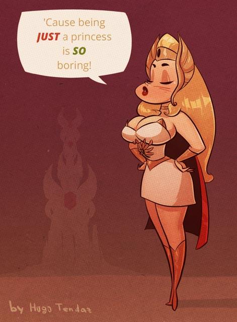 She-Ra - Cartoon PinUp