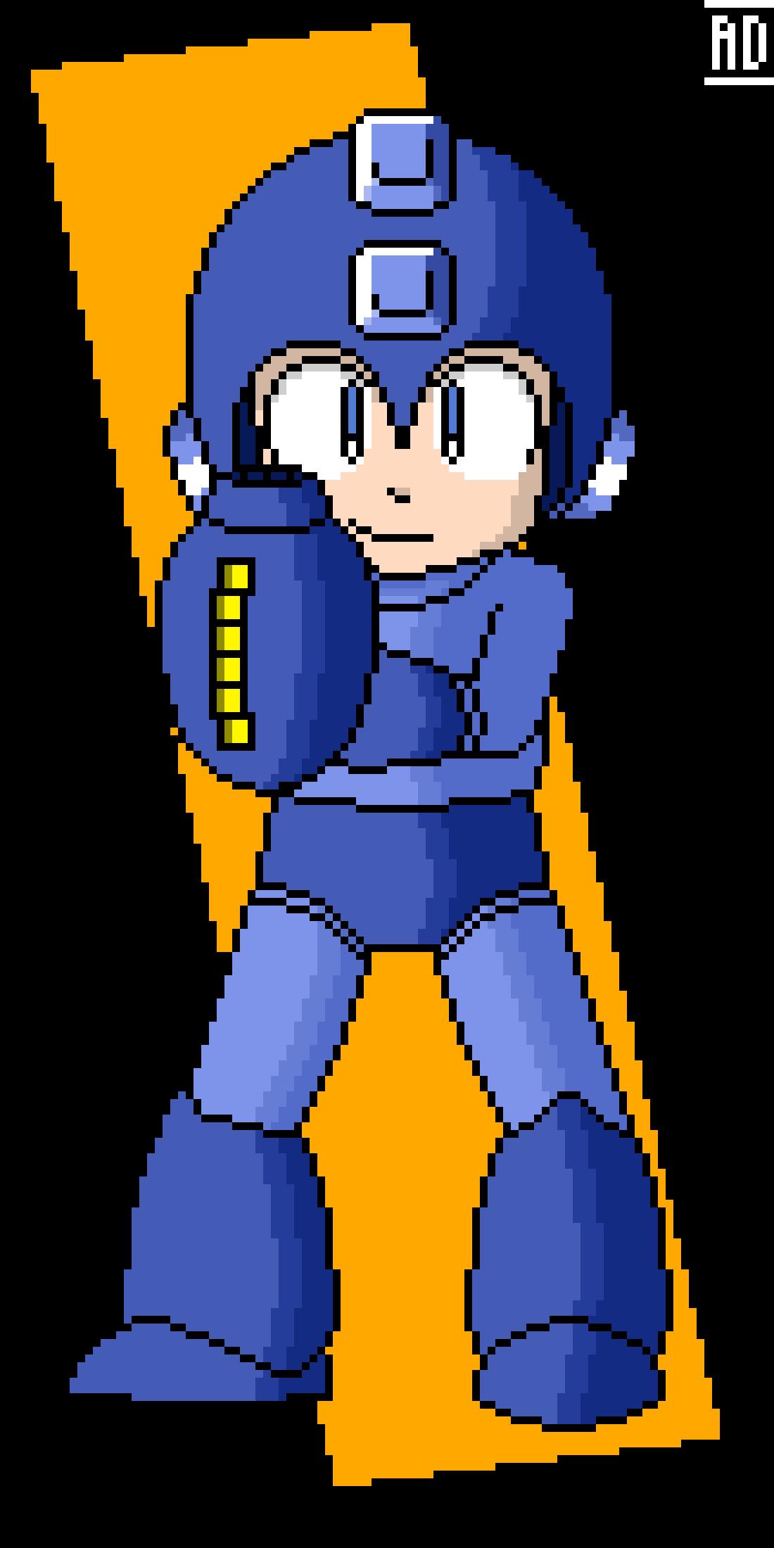 Mega Man Anniversary Picture