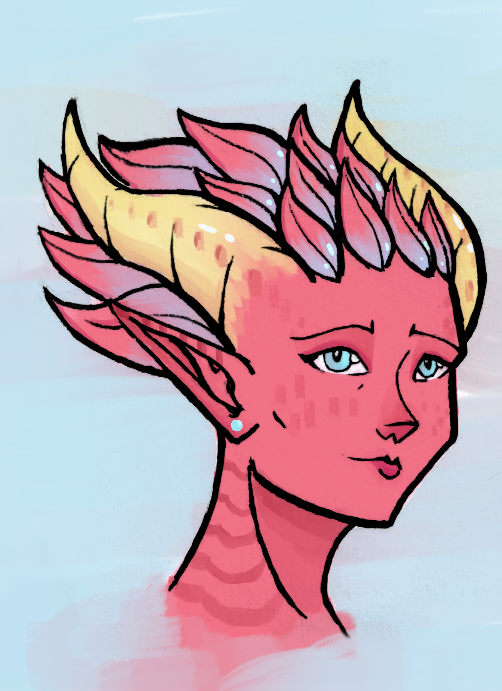 Zeta portrait 1 : Chill