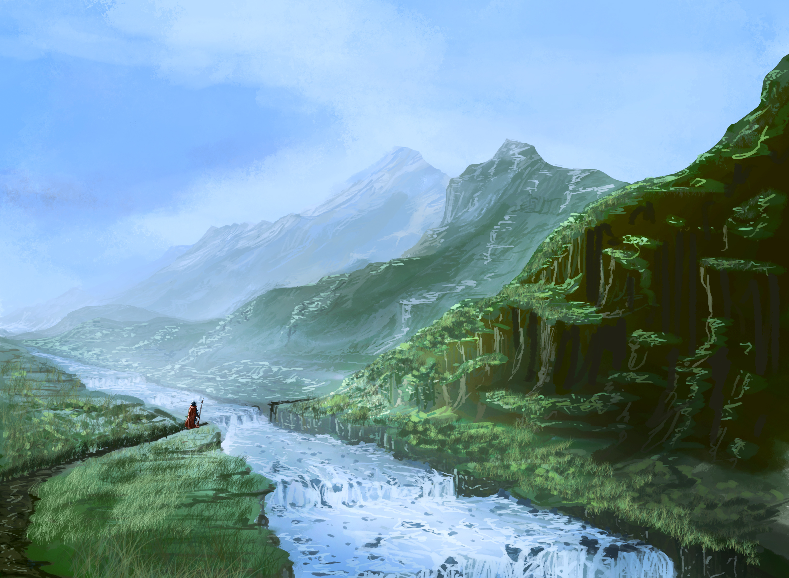 Imperial Road (Speed painting)