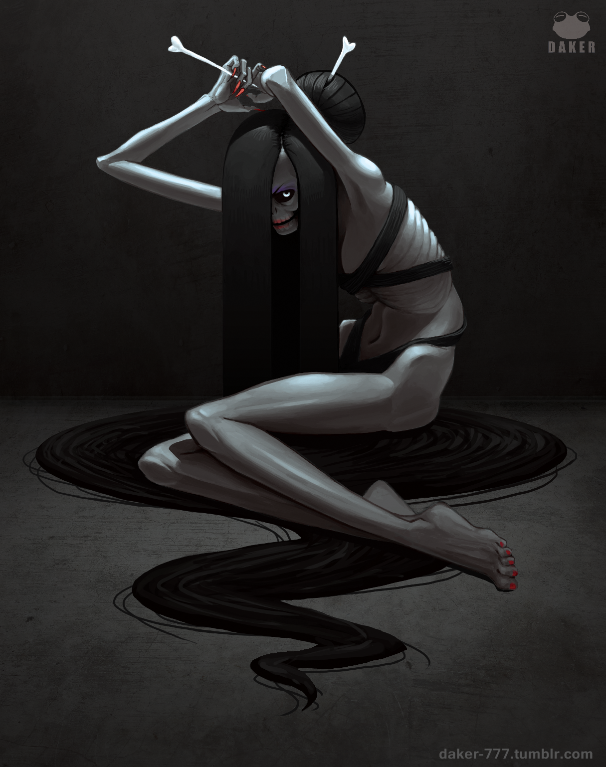 Creepy Pinup