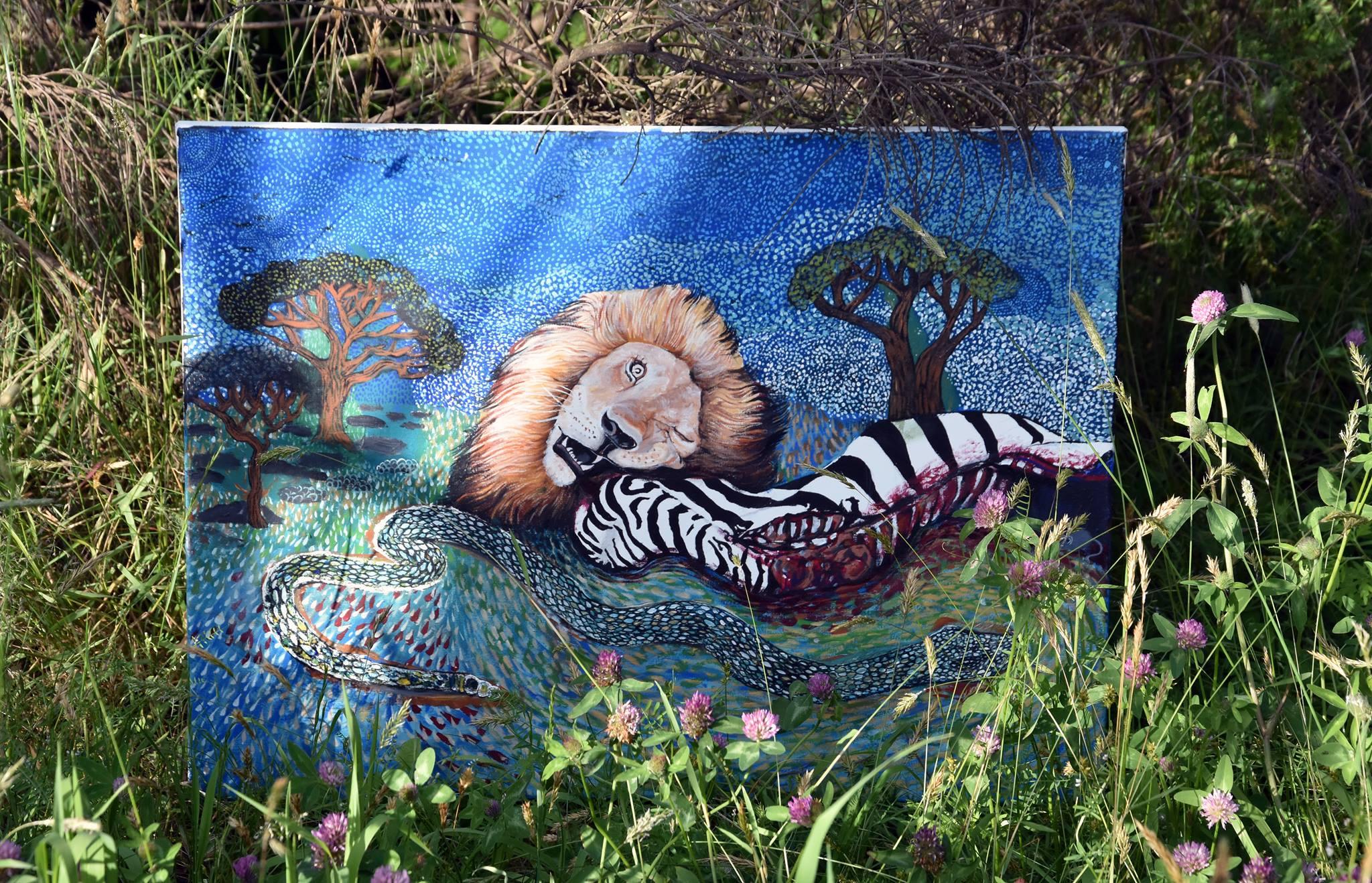 La morta della zebra