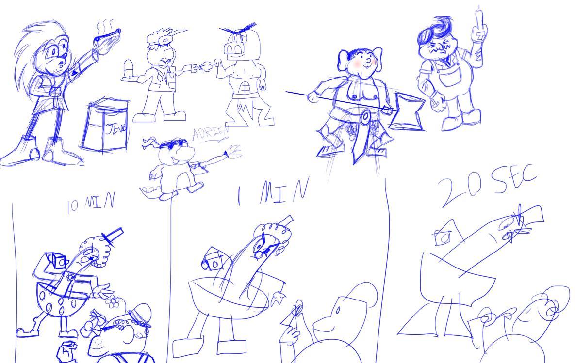 Sketch Trade 4