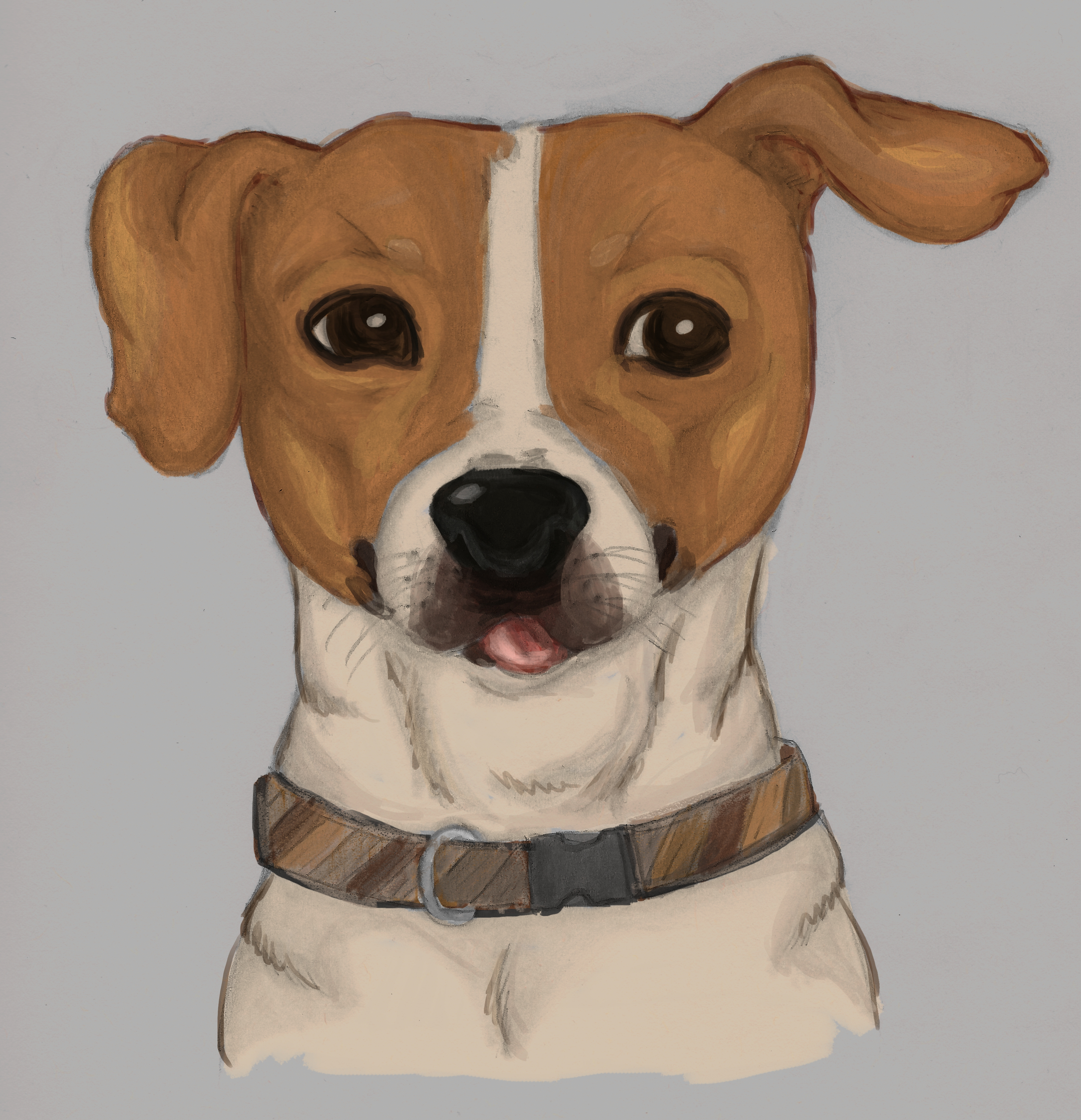 Little painting of my dog