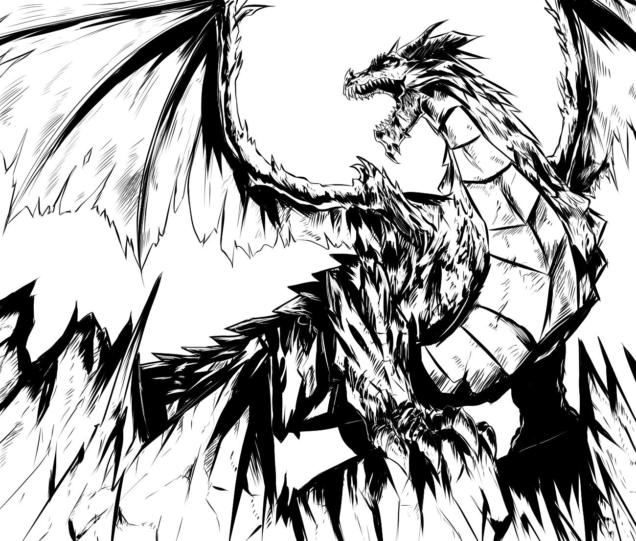 dragon ink (WIP)
