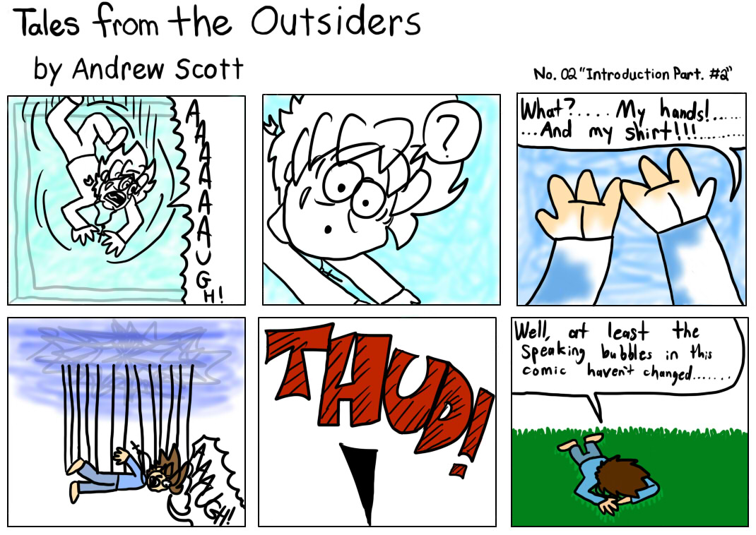 Tales From The Outsiders No.02