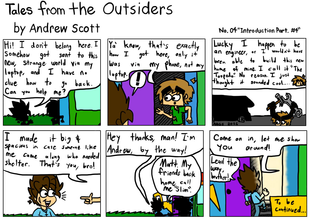 Tales From The Outsiders No.04