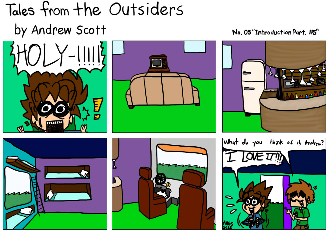 Tales From The Outsiders No.05
