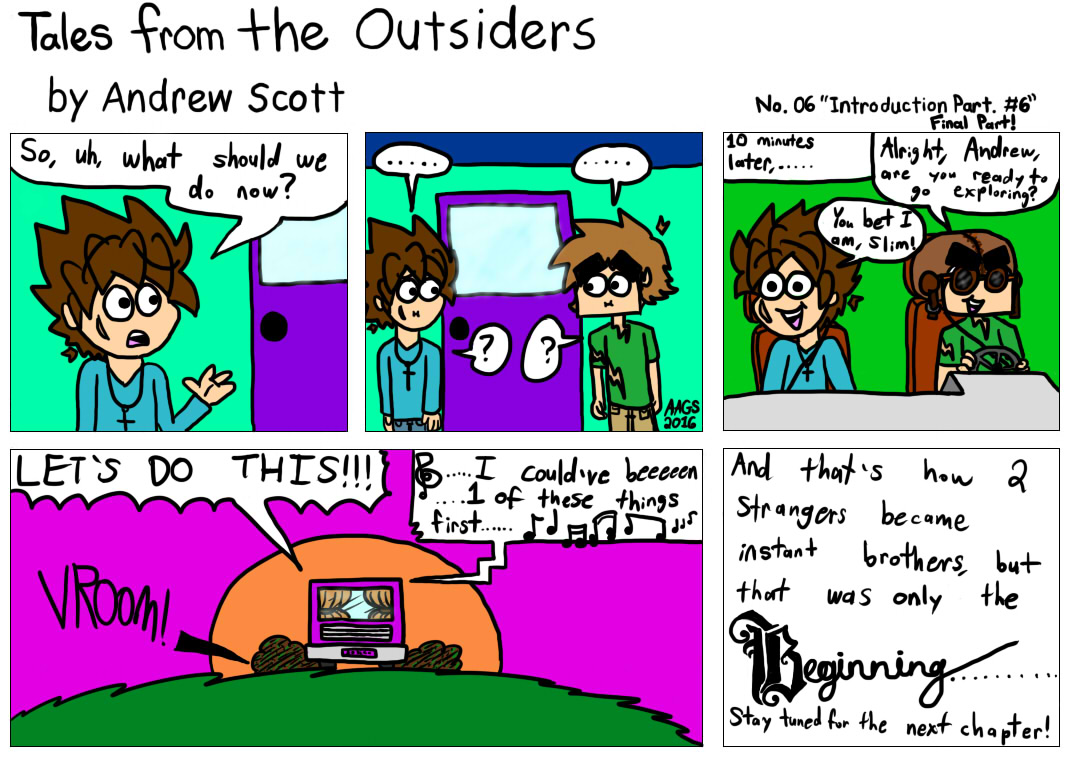 Tales From The Outsiders No.06