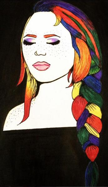 Rainbow Girl #2