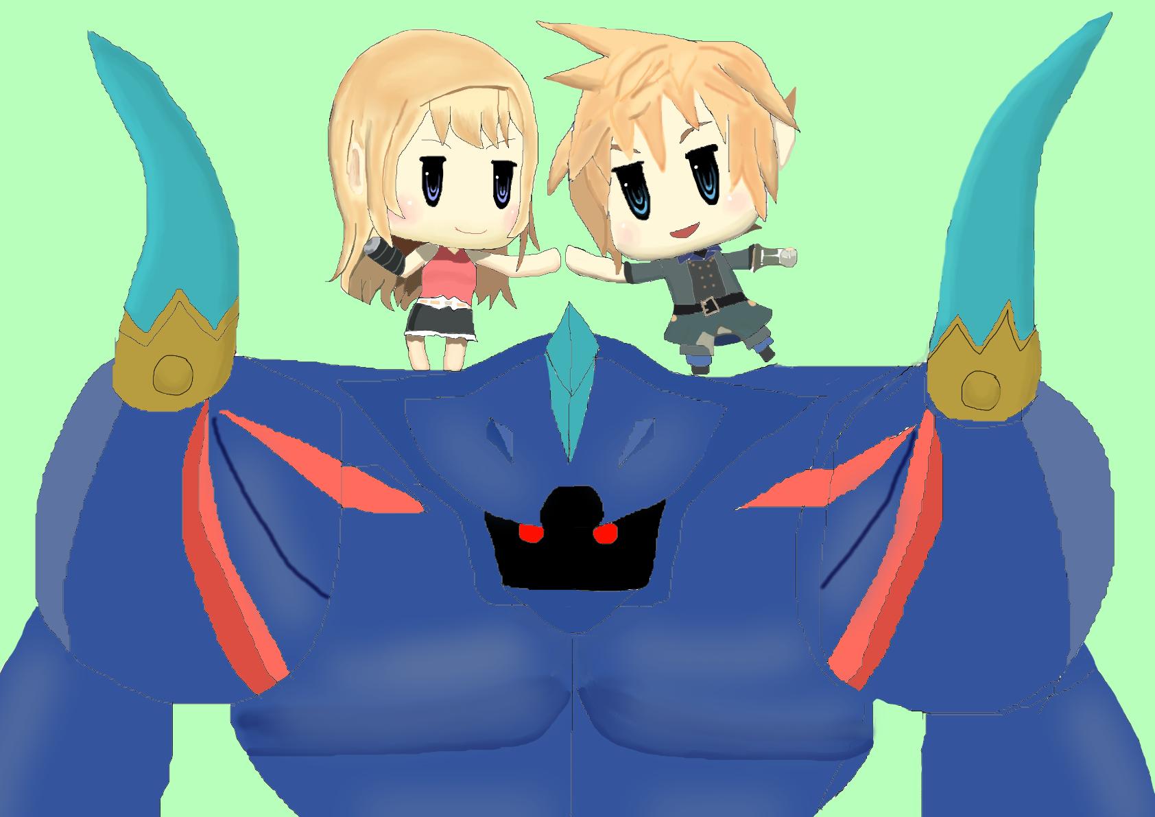 World of Final Fantasy Fanart