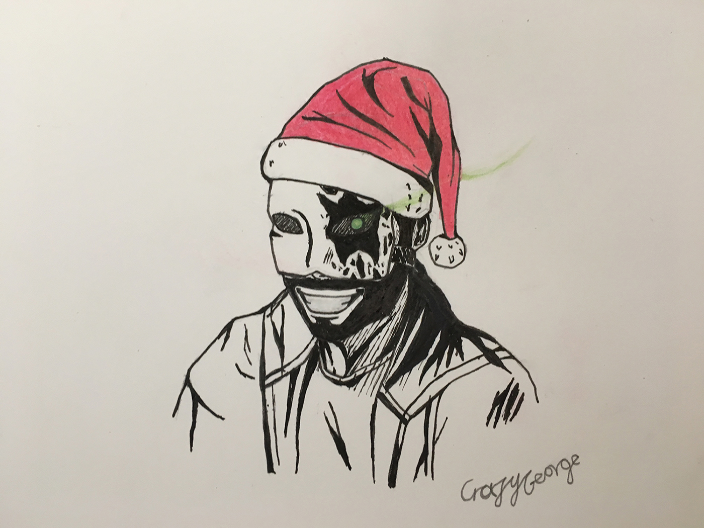 Crazy George Christmas Version