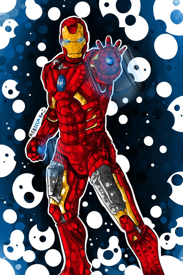 Dad's Iron Man