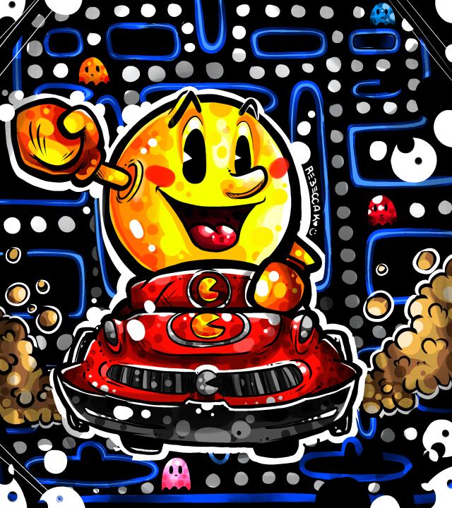 Rachel's Pac Man