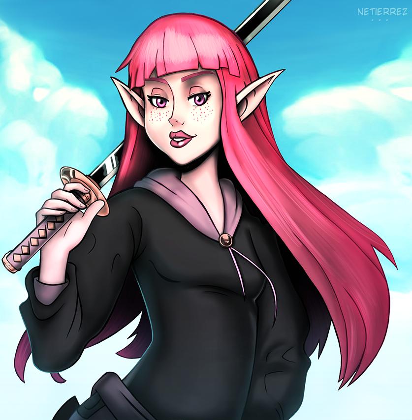 Elf Swordman Girl