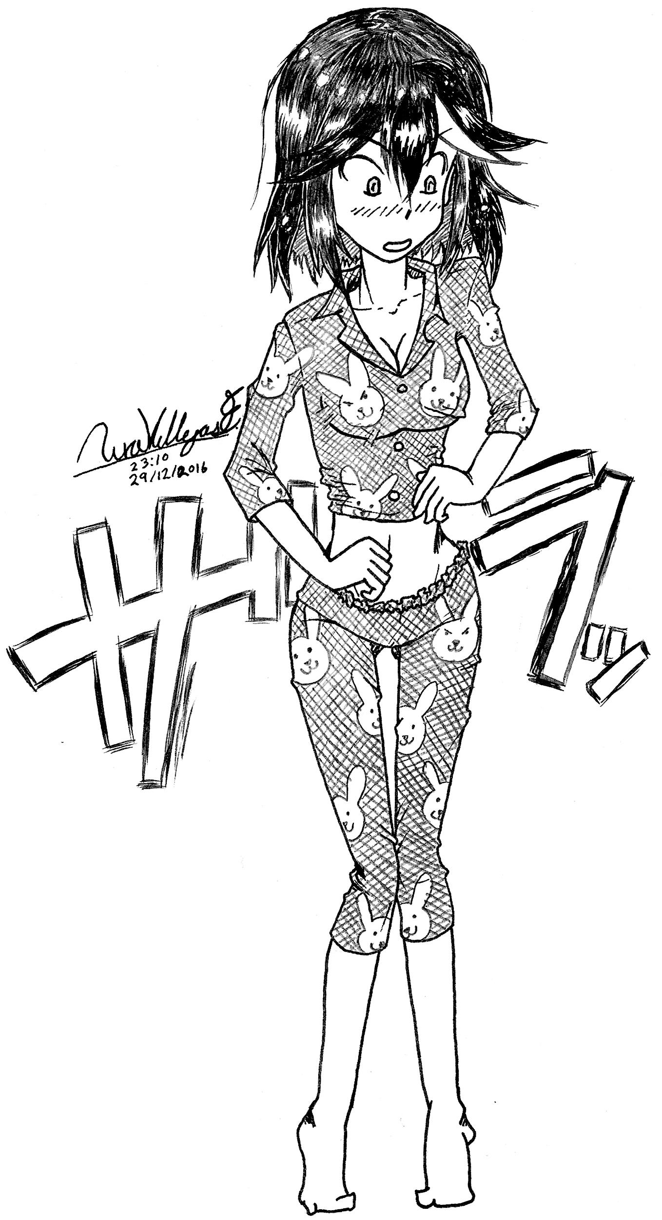 Ryuko Matoi Pajama ~ Kill la Kill