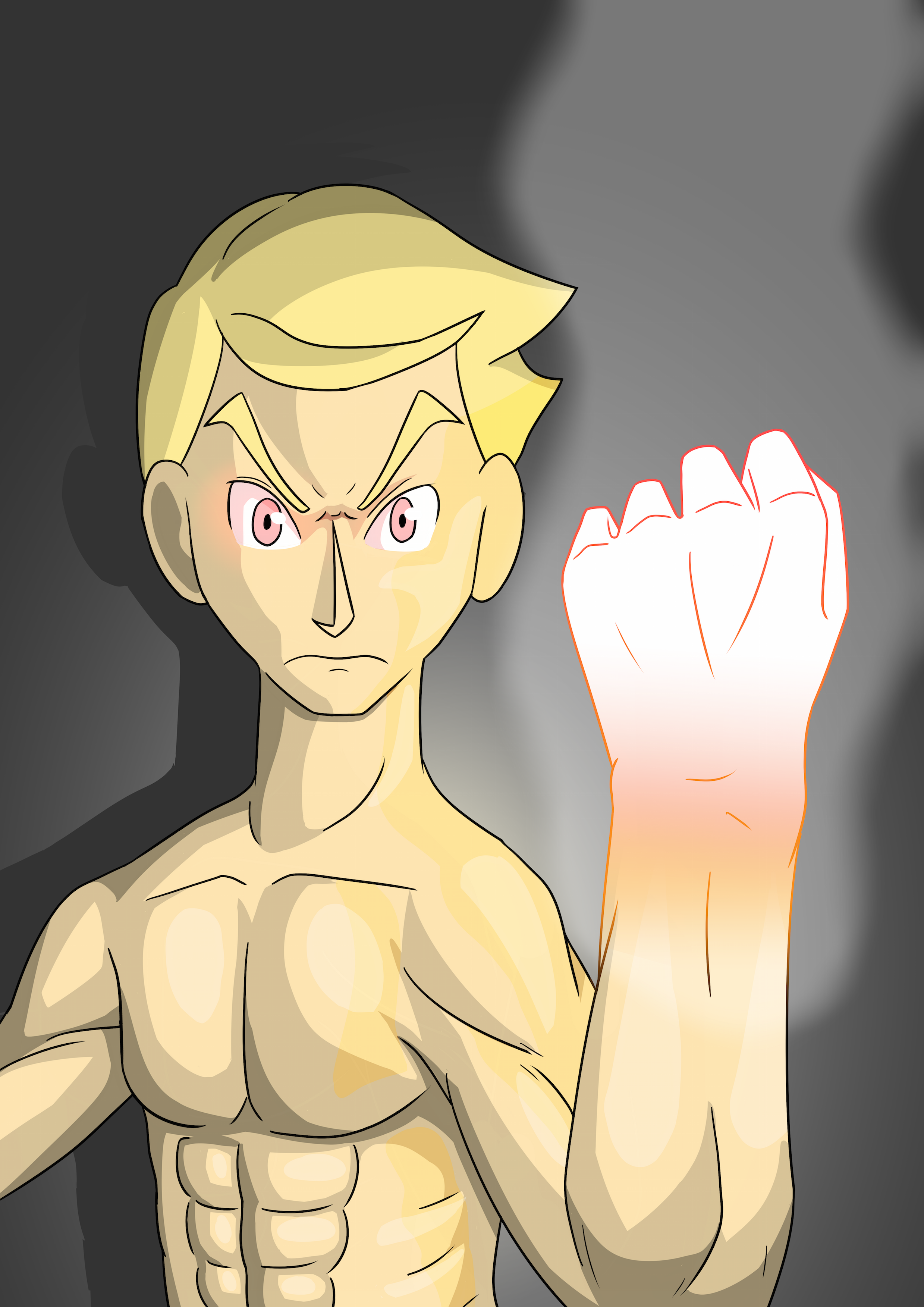 Jordan Burning Hand Technique