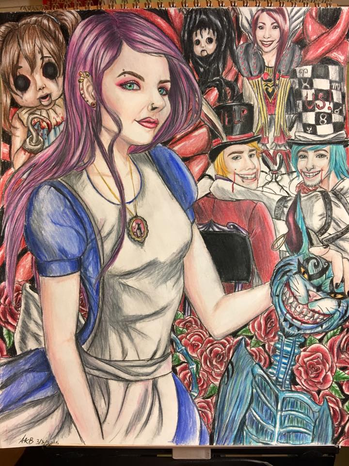 Alice madness returns: the queen's tea party