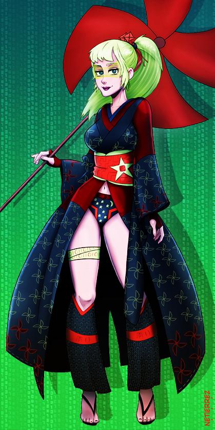 Contest - Girl in a Kimono