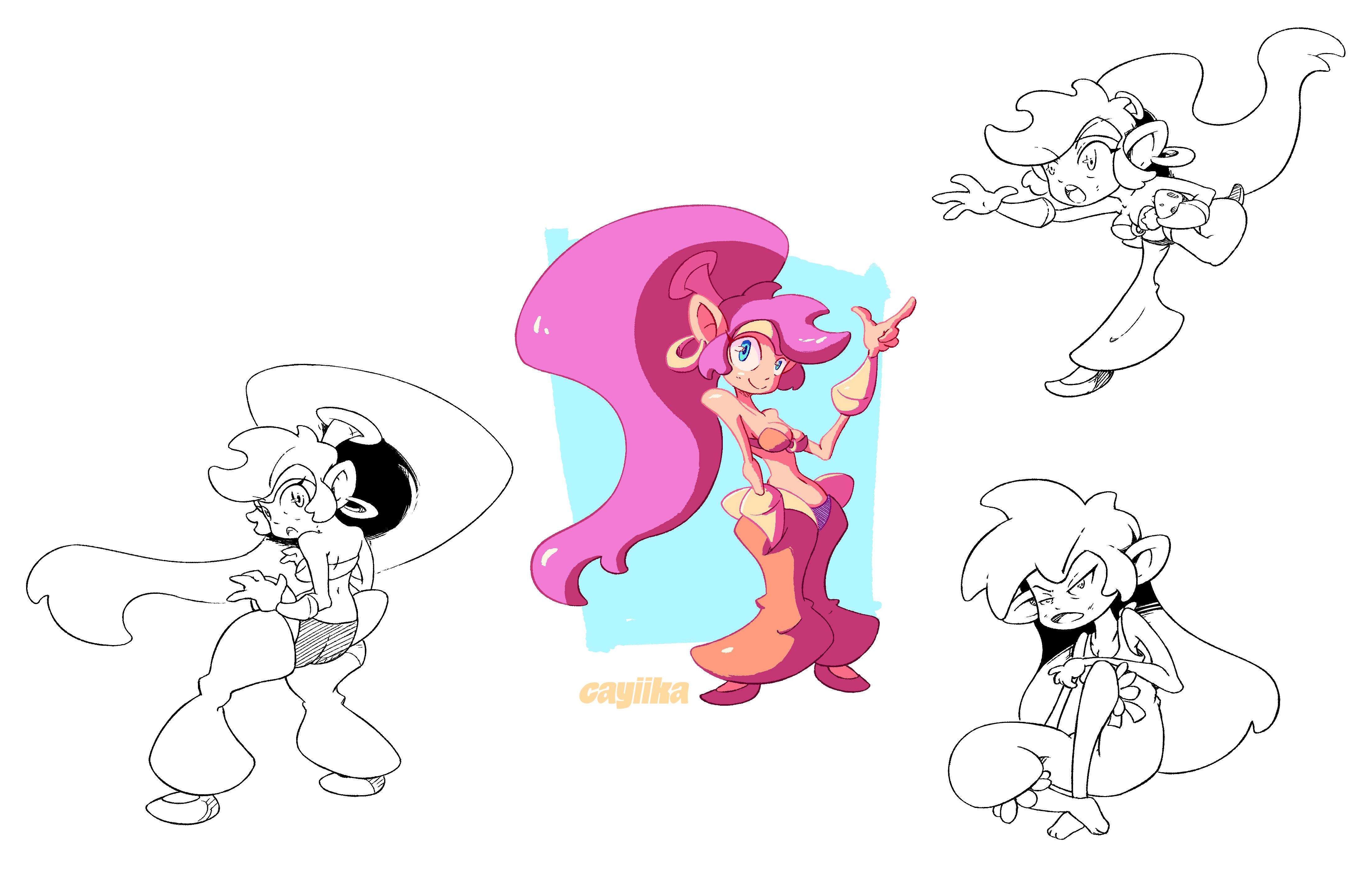 Half-Genie Hero: Shantae