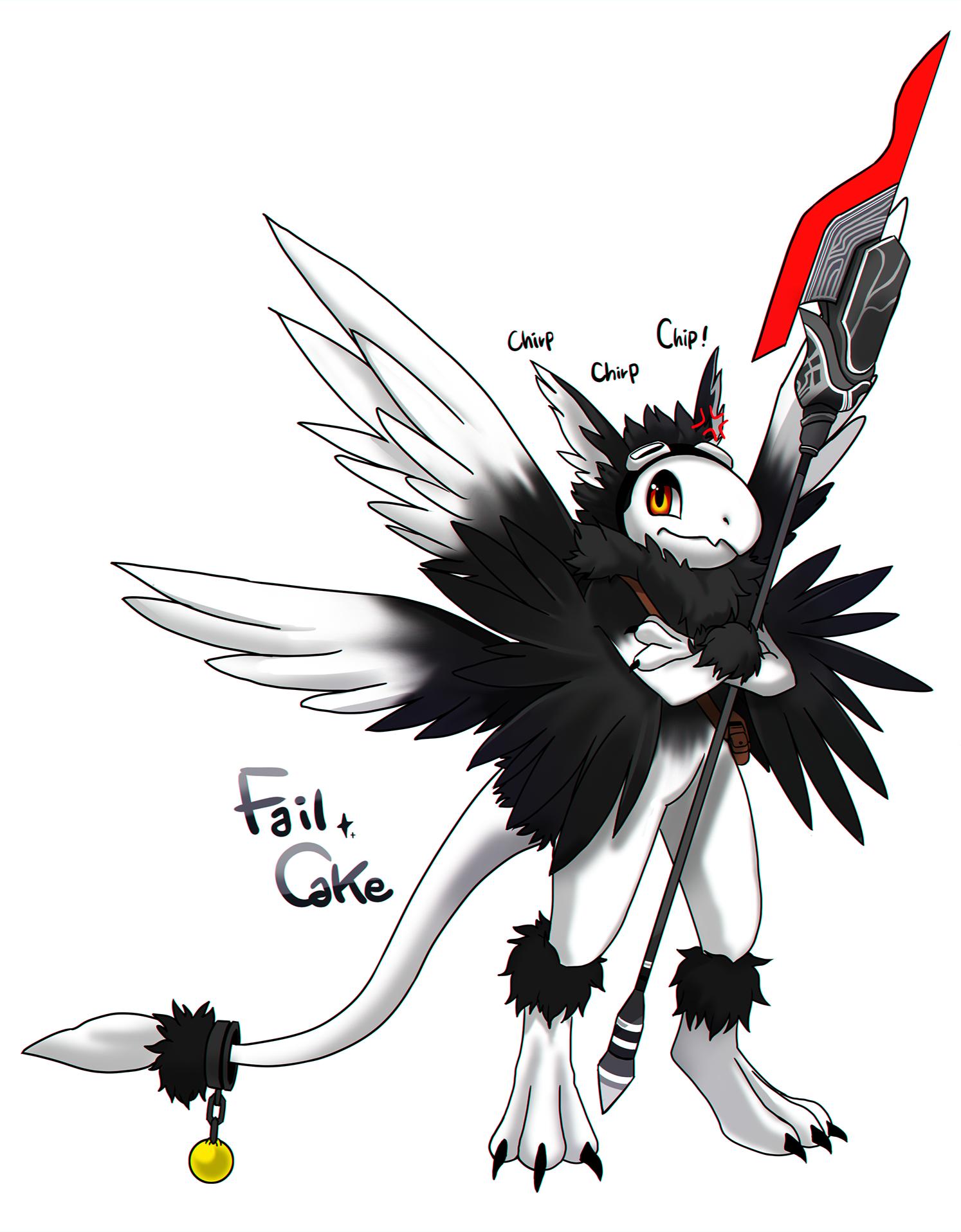 furry bird!
