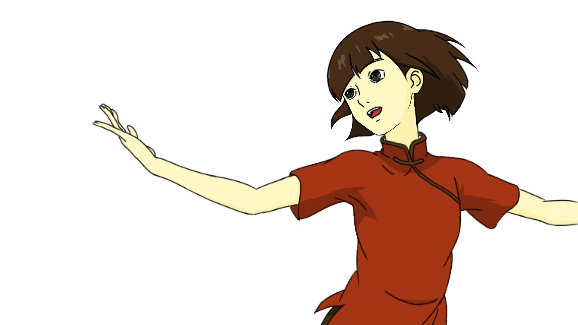 大鱼海棠Chinese girl