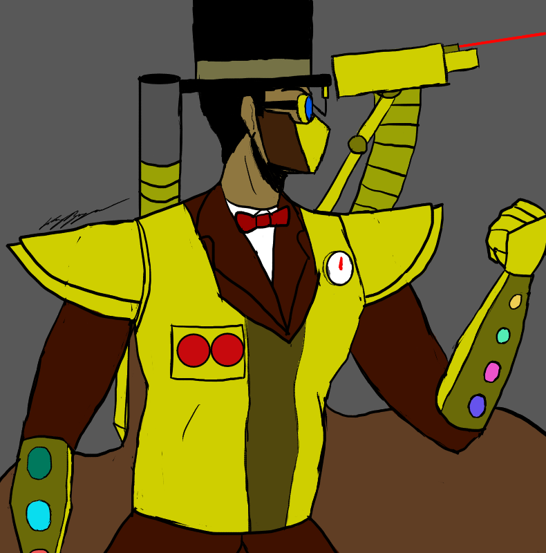 The Steampunk Overlord