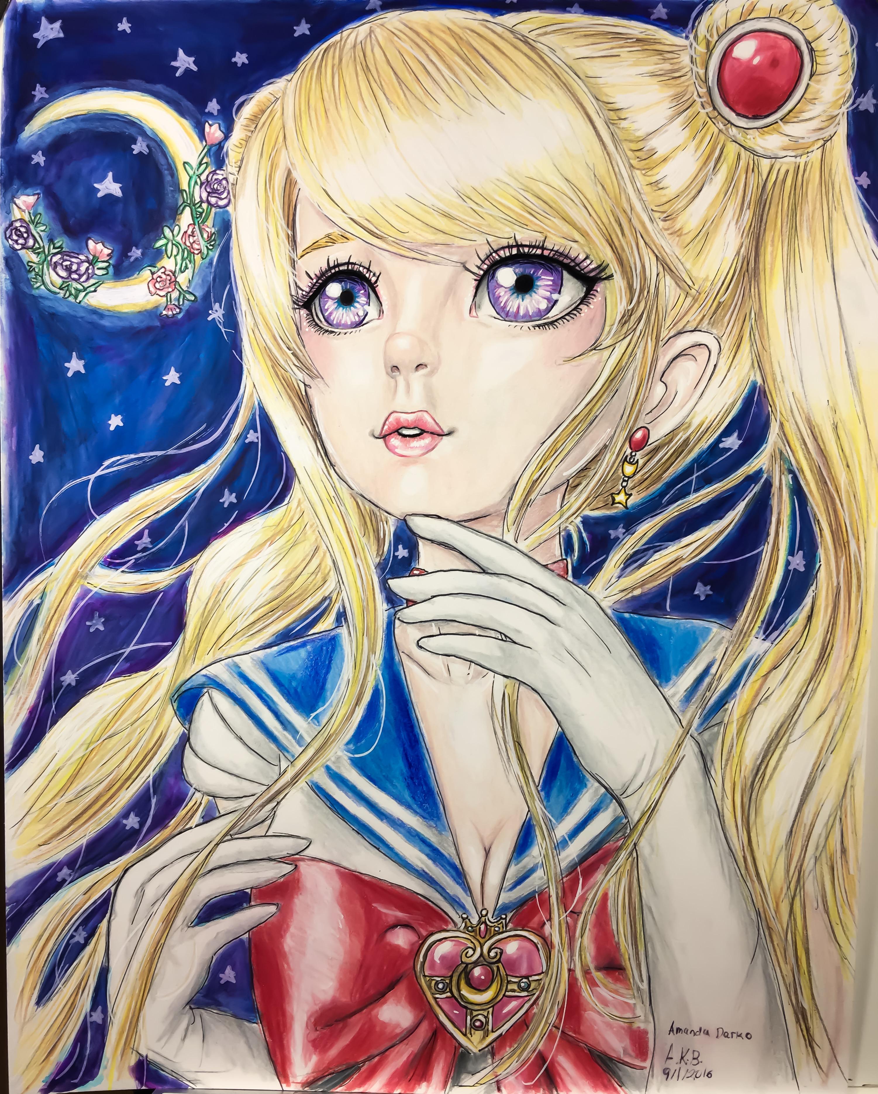 Sailor moon: fighting evil by moonlight
