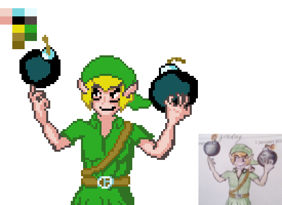 Link & Bombs