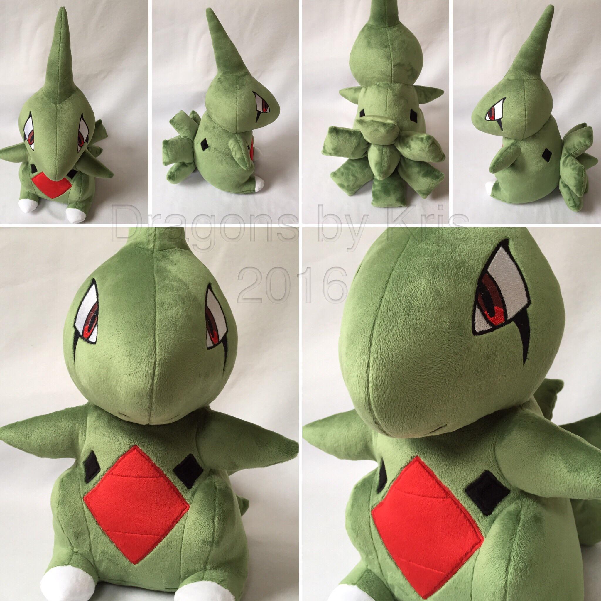 Lifesize Larvitar Pokemon Plush