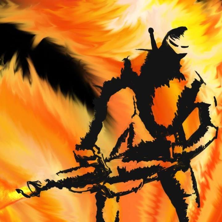 Flamethrower knight