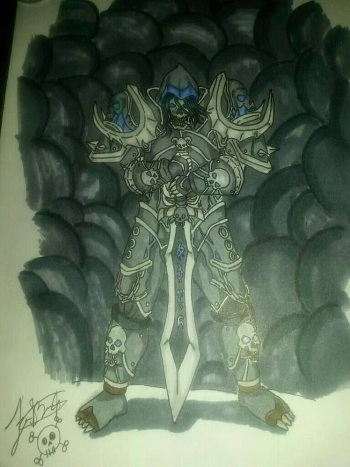 Undead Death Knight Art