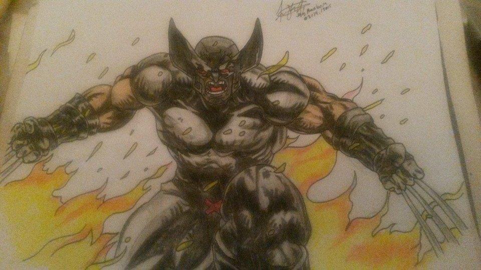 Wolverine Art