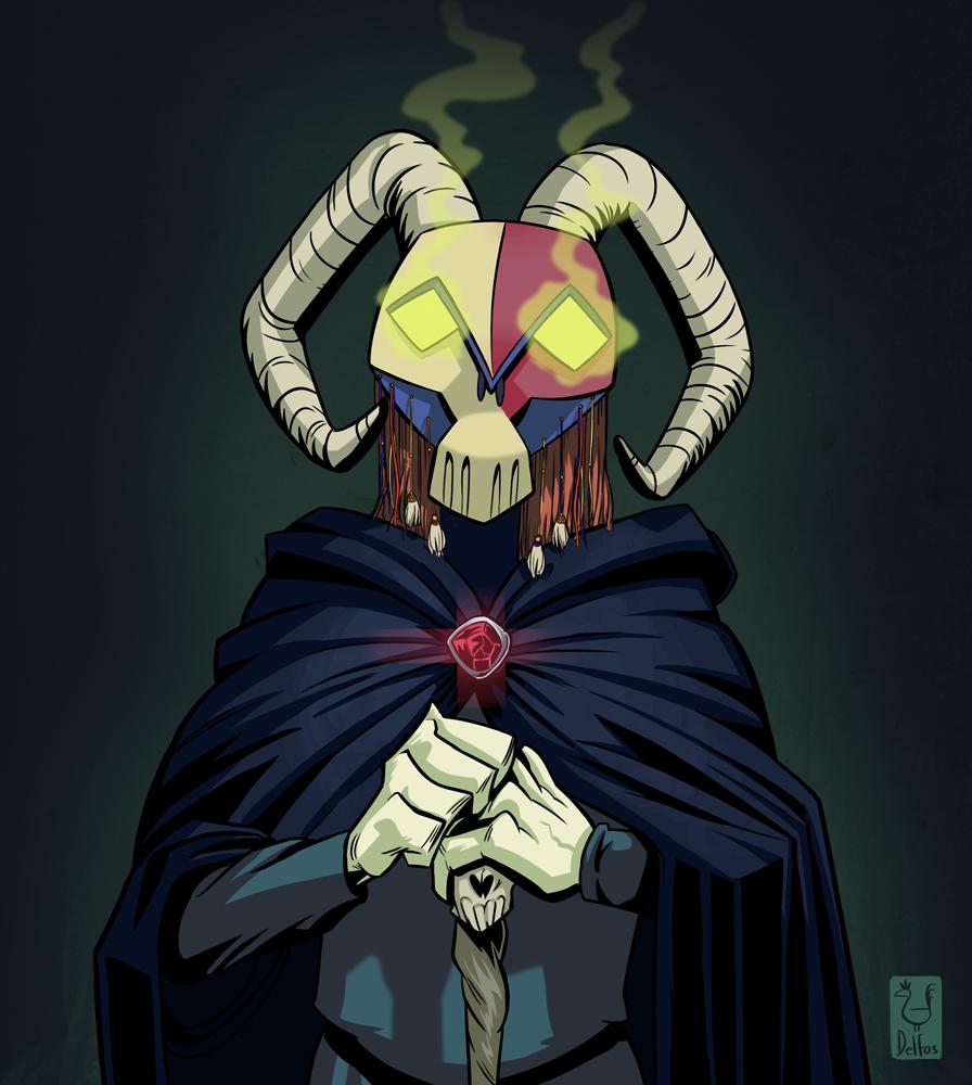 A Dark Monk