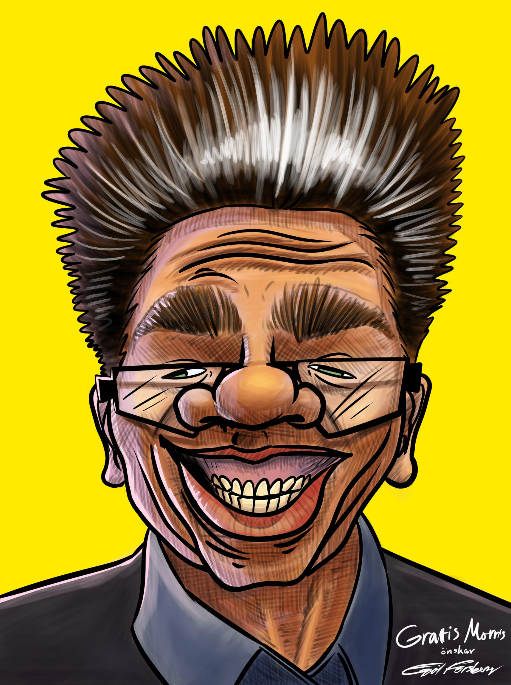 Morris Caricature