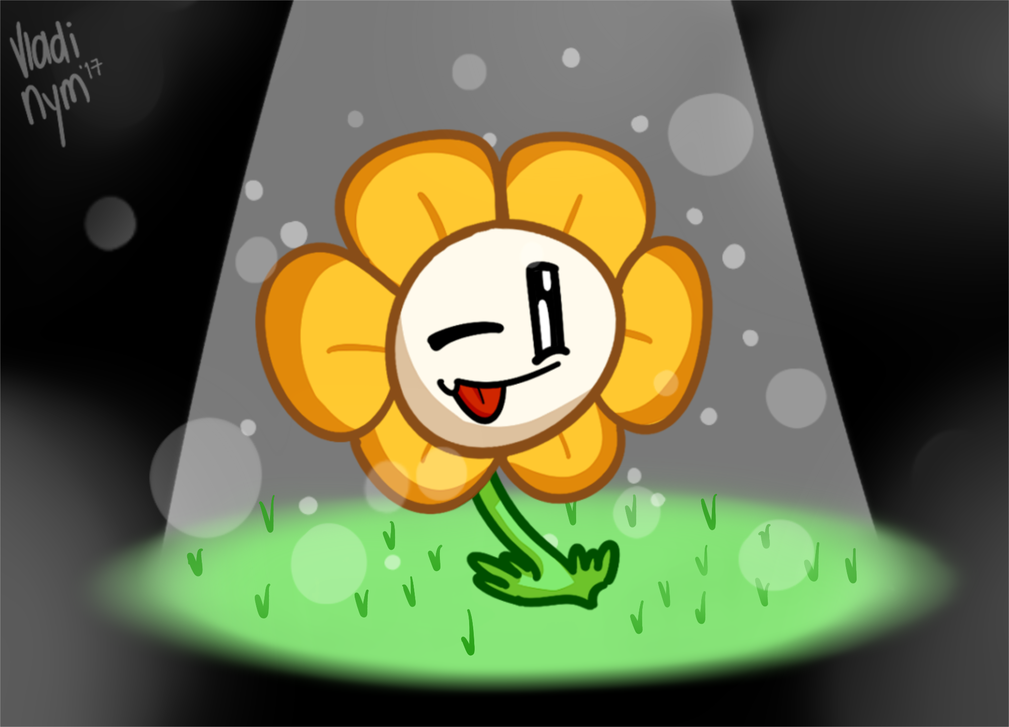 A Talking Flower Has Spawned