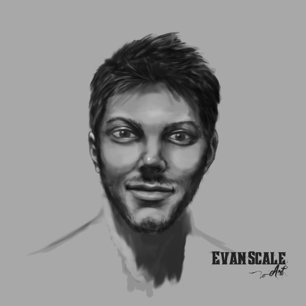 Self-Portrait Grayscale