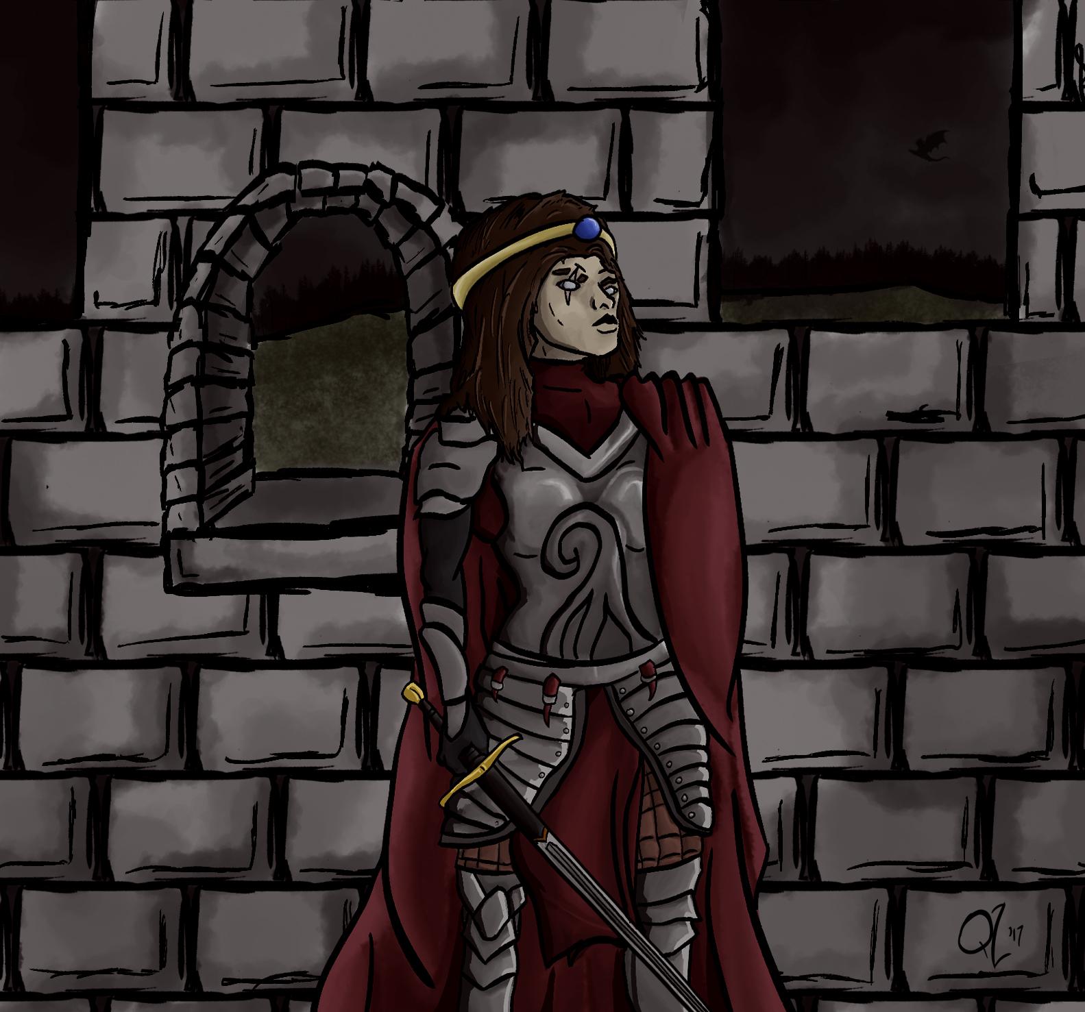 Watchful Queen