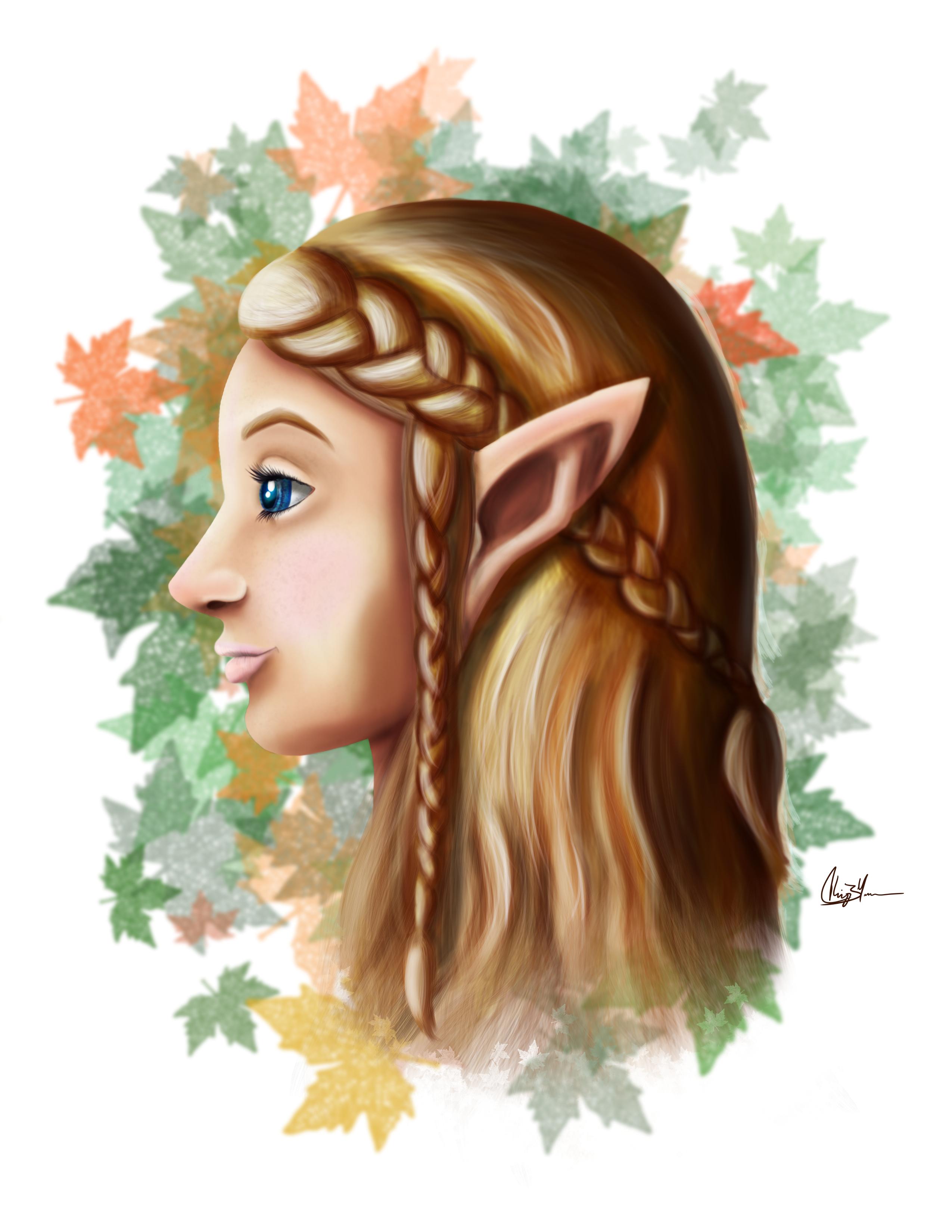 Portrait 2 - Elf