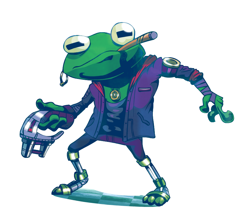 Space rock frog