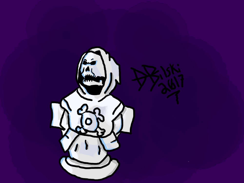 """Skeletor Venus de Milo"" Concept art"
