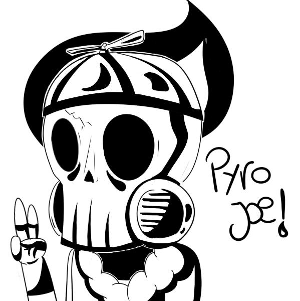 PyroJoe Fan Art